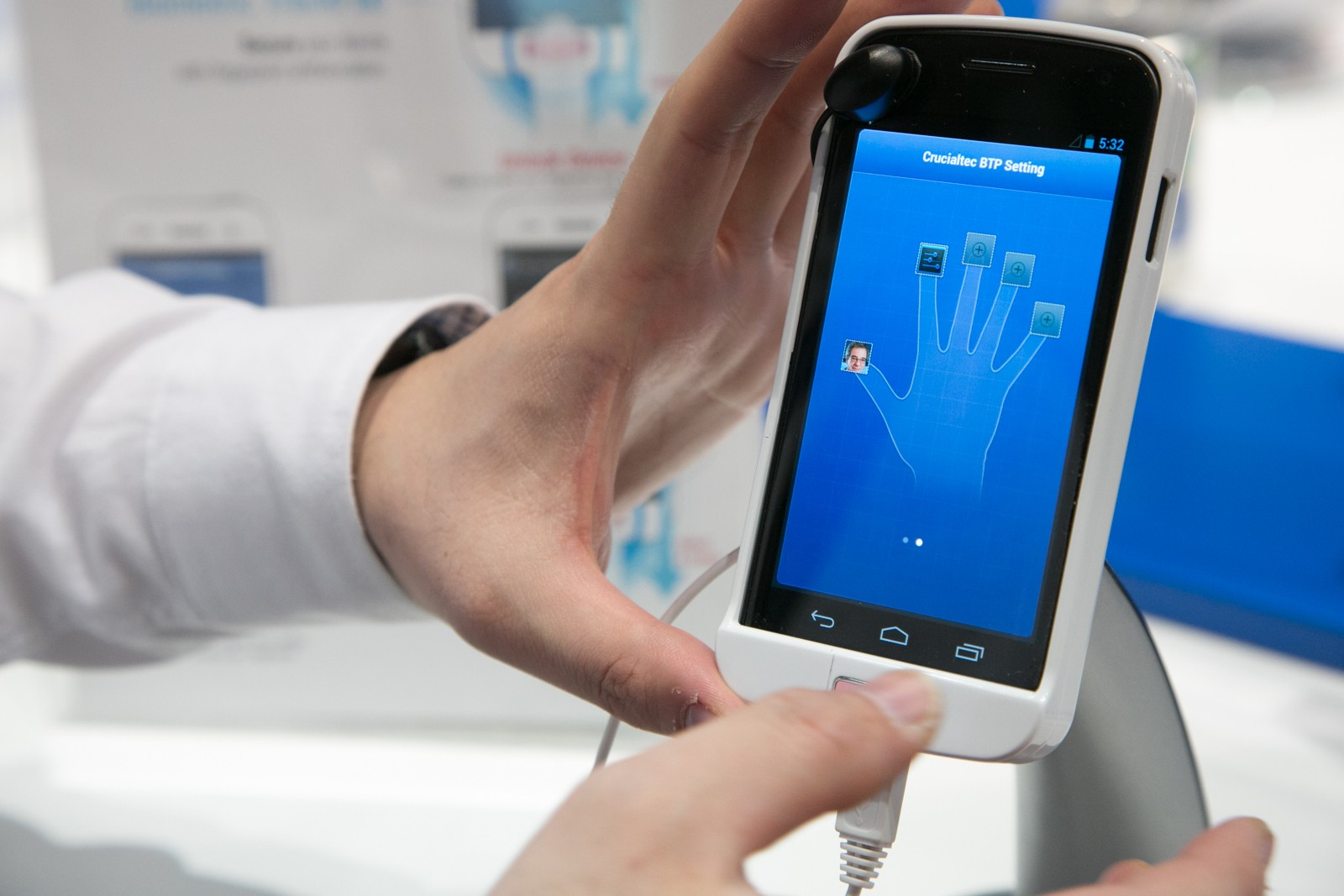 Finger Print Scan in Smartphones