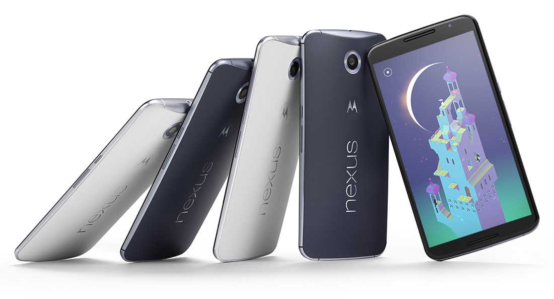 Nexus 6 Smartphone with Android Lollipop