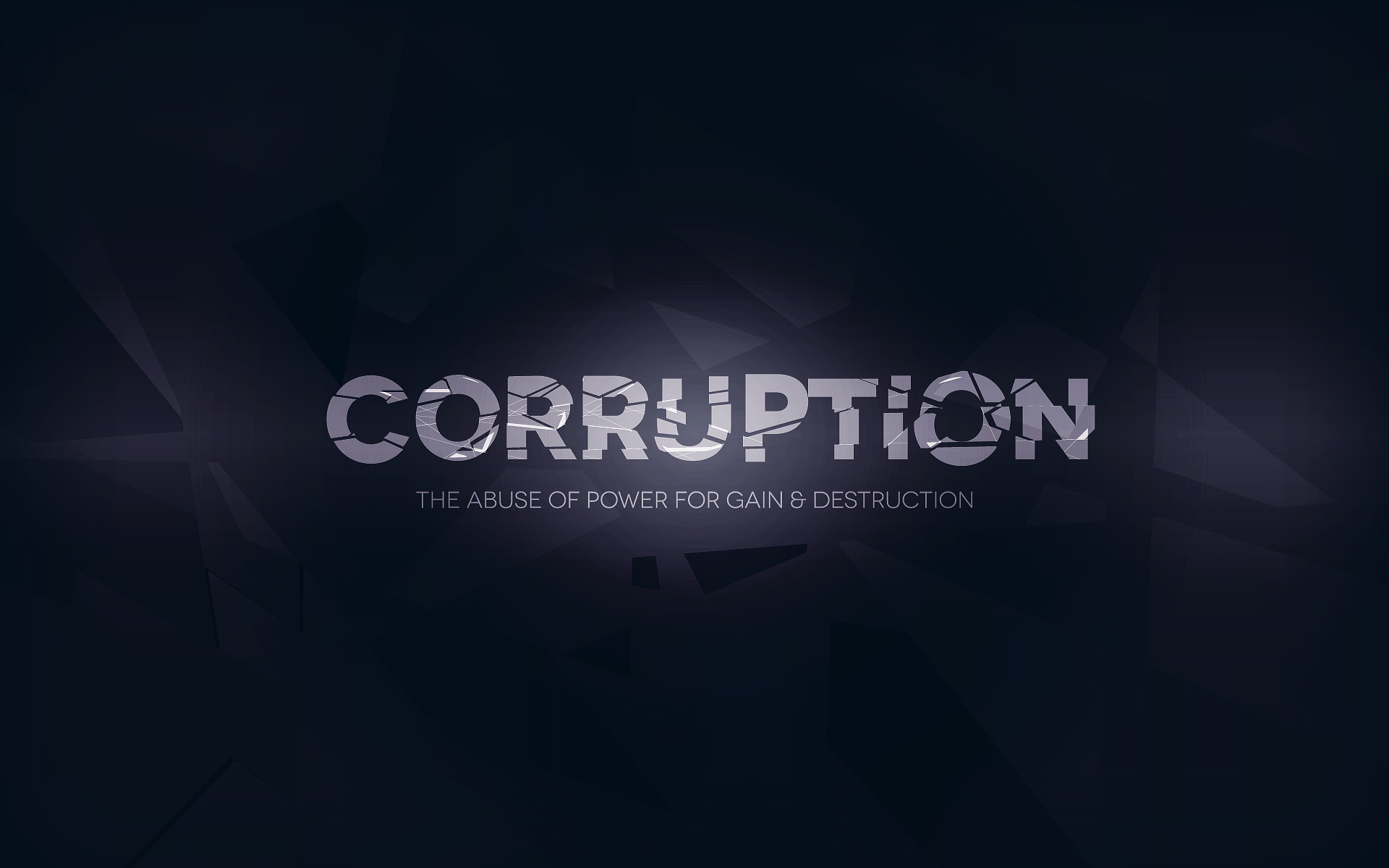 The path to corruption the picture