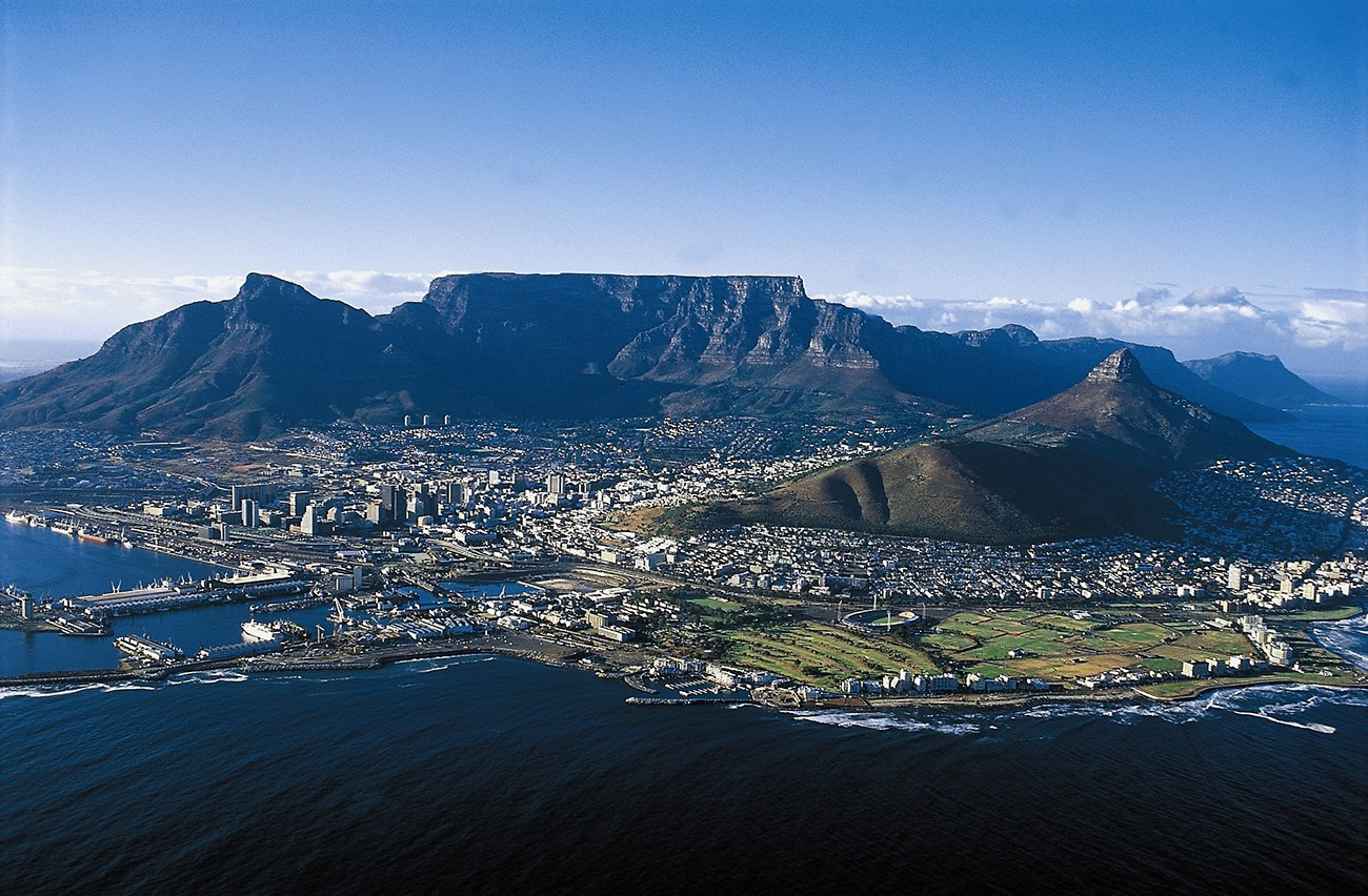 Table Mountain of Cape Town